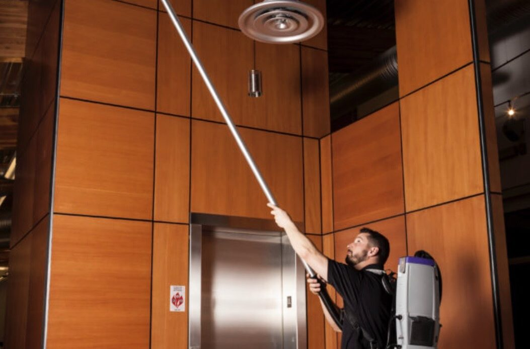 High Dusting Commercial Cleaning
