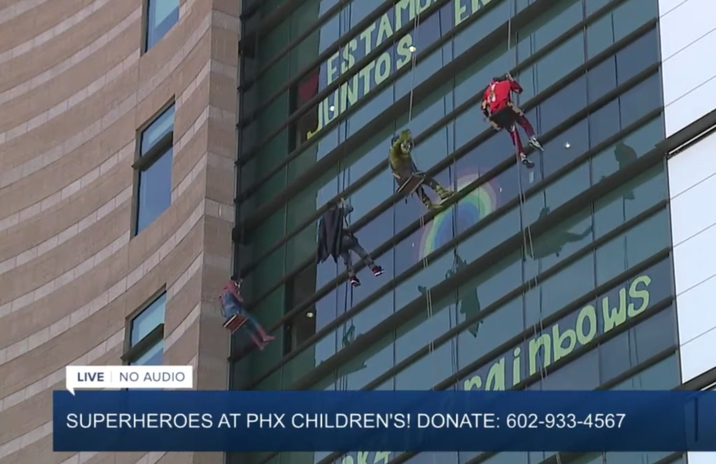 Super Hero Telethone Phoenix Children's Hospital
