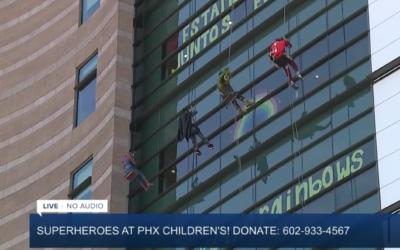 Super Hero Telethone Phoenix Children's Hospital